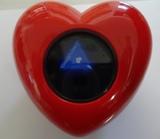 Магический Шар Предсказатель Сердце с антифризом -20