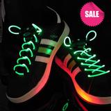 Светящиеся шнурки Disco Green
