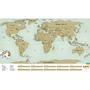 Скретч карта мира на английском языке Киев