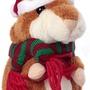 Говорящий хомяк коричневый UFT Christmas Hamster brown
