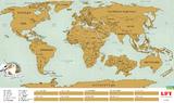 ������ ����� ���� UFT Scratch World Map Ru �� �������