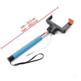 Селфи-монопод со шнуром UFT SS4 Blue
