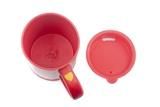 Чашка-мешалка с вентилятором красная